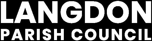 Langdon Parish Council - logo footer